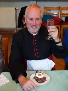 Fr Andrew is 60