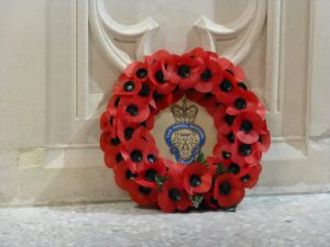 Remembrance service at St Boniface