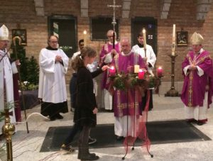 Bishops +Robert and +Norman at St Boniface