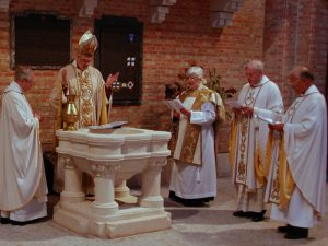 Bishop of London at St Boniface