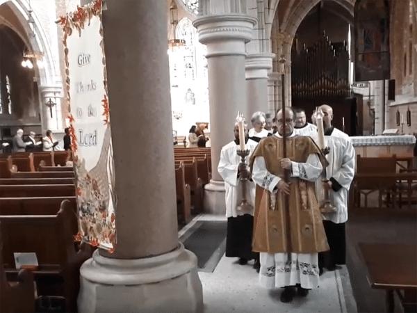 All Saints 2019 procession